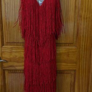Dresses & Skirts - Tassel Latin Dance Salsa Tango Cha cha Ballroom Rh